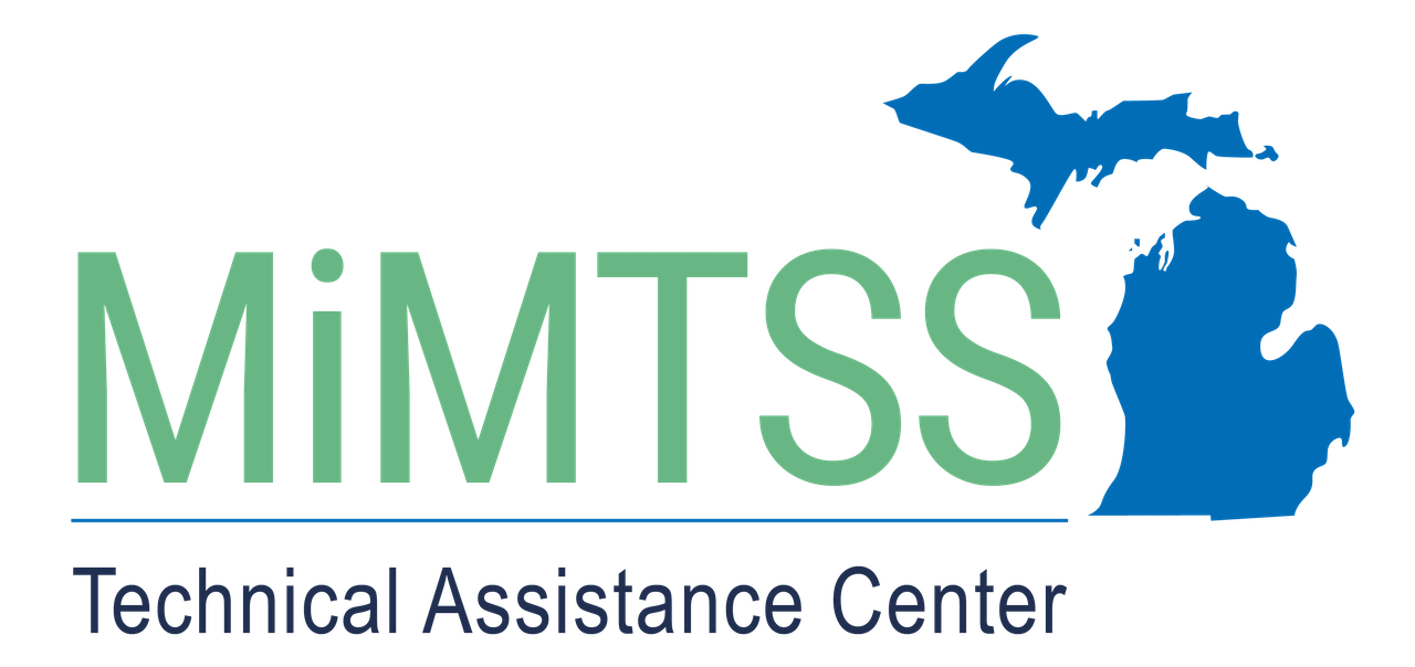 MiMTSS Technical Assistance Center with Michigan map